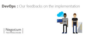 DevOps: Our feedbacks on the implementation