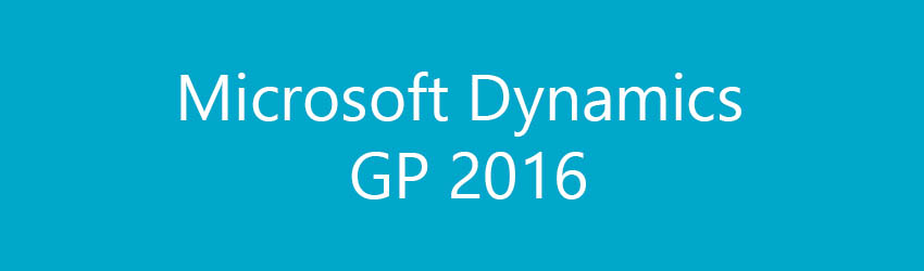 Dynamics GP 2016 is just around the corner. What are the new features?